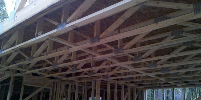 Floor trusses mid michigan truss components llc for Engineered roof trusses prices